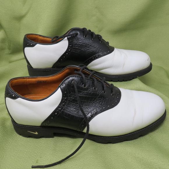 nike saddle golf shoes